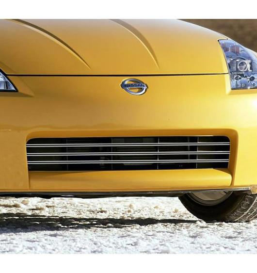 Radiator grill dual chrome trim Nissan 350Z