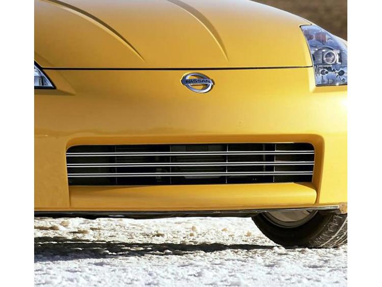 Radiator grill dual chrome trim Nissan 350Z