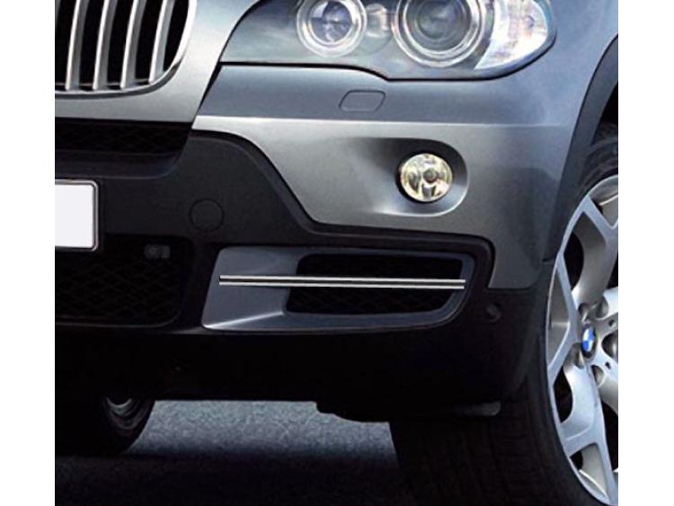 Doppel-Zier-Chromleiste für Nebelscheinwerfer BMW X5