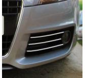Baguette chromée pour antibrouillards Audi A3 Série 1 9600