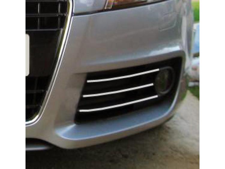 Fog lights chrome trim Audi TT Série 2 06-14 Audi TT RS Audi TTS