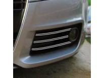 Double baguette chromée pour antibrouillards Audi TT Série 2 0614