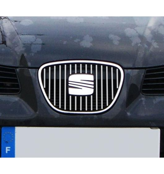 Inner radiator grill chrome trim Seat Ibiza 01-08