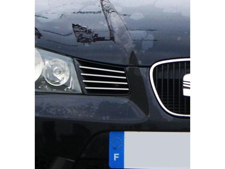 External radiator grill chrome trim Seat Ibiza 01-08