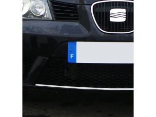 Radiator grill contours chrome trim Seat Ibiza 0108