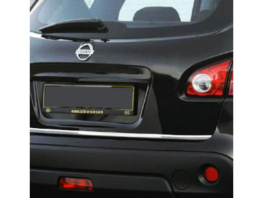 Fascia per bagagliaio cromata Nissan Qashqai 2 08102 phase 2 1014