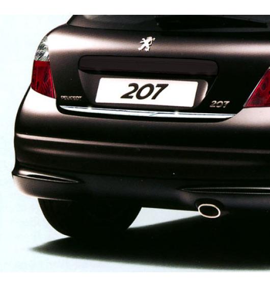 Fascia per bagagliaio cromata Peugeot 207 06-09 Peugeot 207 09-20 Peugeot 207 CC 06-09 Peugeot 207 C