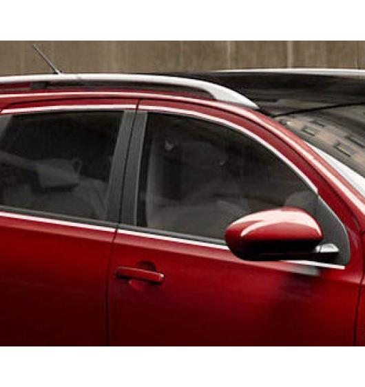 Side windows chrome trim Nissan Qashqai +2 08-10 Qashqai +2 phase 2 10-14 Qashqai +2 phase 3,07-10,p