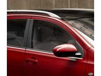 Cornice cromata di contorno inferiore dei vetri Nissan Qashqai 2 0810