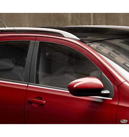 Side windows lower chrome trim Nissan Qashqai +2 08-10 Qashqai +2 phase 2 10-14/+2 phase 3/07-10/pha