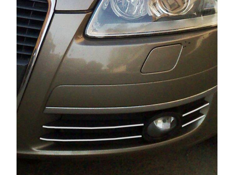 Fog lights chrome trim Audi A6 Série 3 Avant 05-08 & Audi A6 Série 3 Berline 05-08