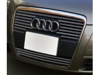 Double baguette de calandre chromée Audi A6 0408 v2