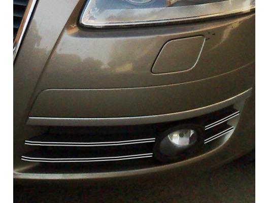 Fog lights dual chrome trim Audi A6 Série 3 Avant 0508  Audi A6 Série 3 Berline 0508