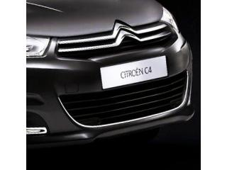 Radiator grill contours chrome trim Citroën C4 1121