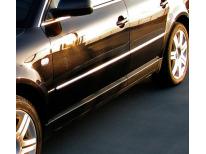 Baguette de protection latérale chromée VW Passat 051010199505