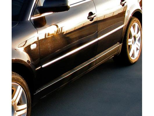 Baguette de protection latérale chromée VW Passat 0510 VW Passat 1019 VW Passat 9505
