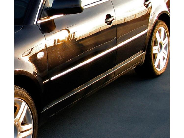 Baguette de protection latérale chromée VW Passat 05-10 VW Passat 10-21 VW Passat 95-05