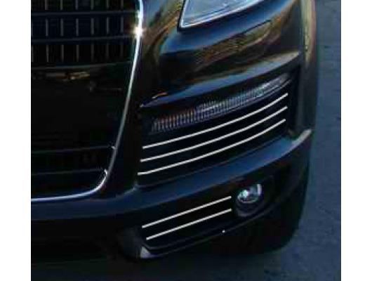 Fog lights chrome trim Audi Q7