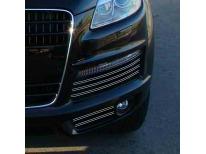Double baguette chromée pour antibrouillards Audi Q7