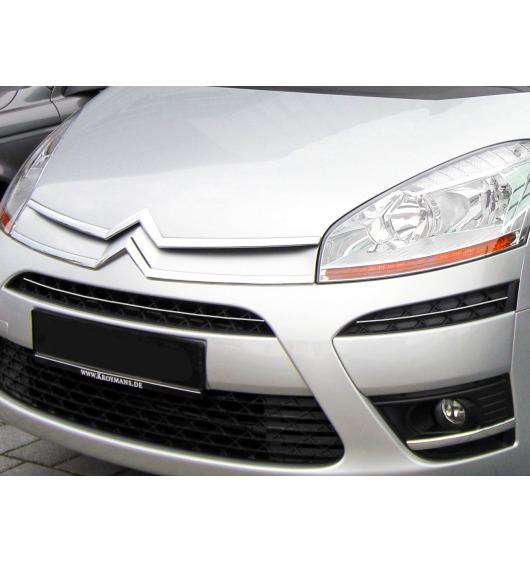 Moldura de calandria superior cromada Citroën C4 Picasso (07-12)