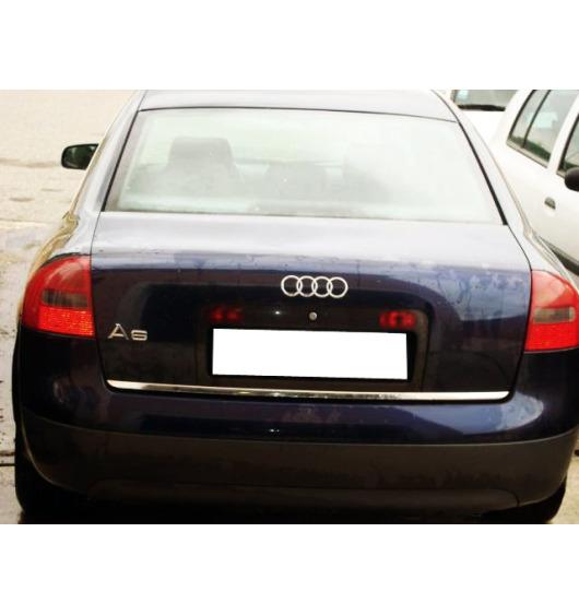 Trunk chrome trim Audi A6 Série 2 97-01/Série 2 Avant 97-05/Série 2 Phase 2 01-04...