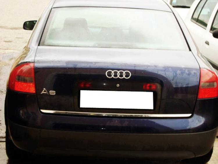 Trunk chrome trim Audi A6 Série 2 97-01 A6 Série 2 Avant 97-05 A6 Série 2 Phase 2 01-04 A6 Série 2 P