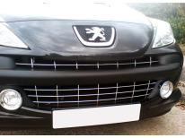 Baguette de calandre chromée Peugeot 207 0609 207 CC 0609 207 SW 0609