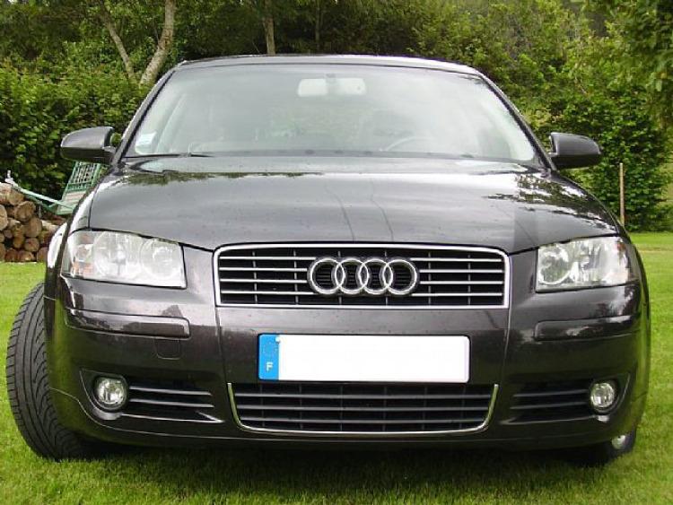 Upper radiator grill chrome trim Audi A4 série 1 94-98/série 2 00-04 RS4 00-01 S4 03-08 série 2/08-1