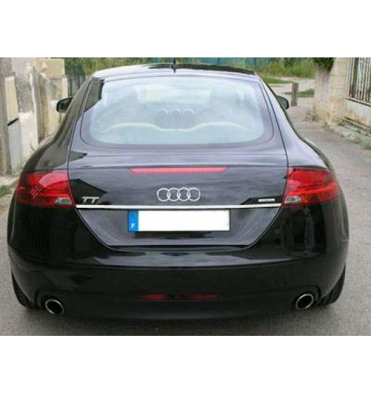 Trunk chrome trim Audi TT Série 2 06-14 Audi TT RS Audi TTS