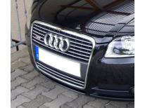Baguette de calandre chromée Audi A4 0408  Audi S4 0308 v1