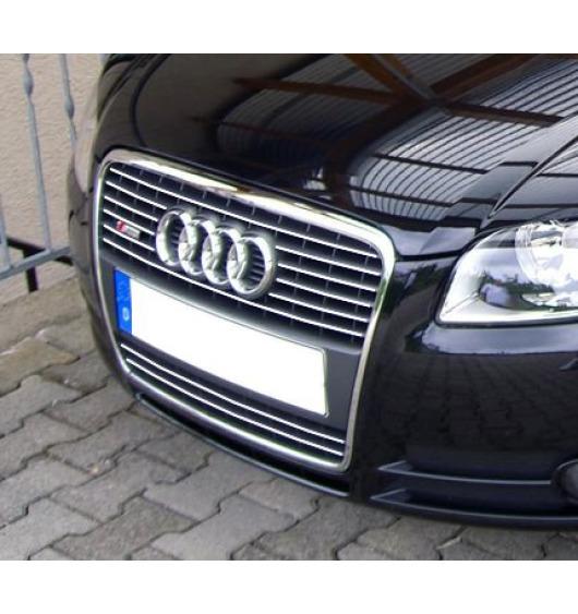 Radiator grill chrome moulding trim Audi A4 série 2 phase 2 04-08 & Audi S4 03-08 série 2 v1