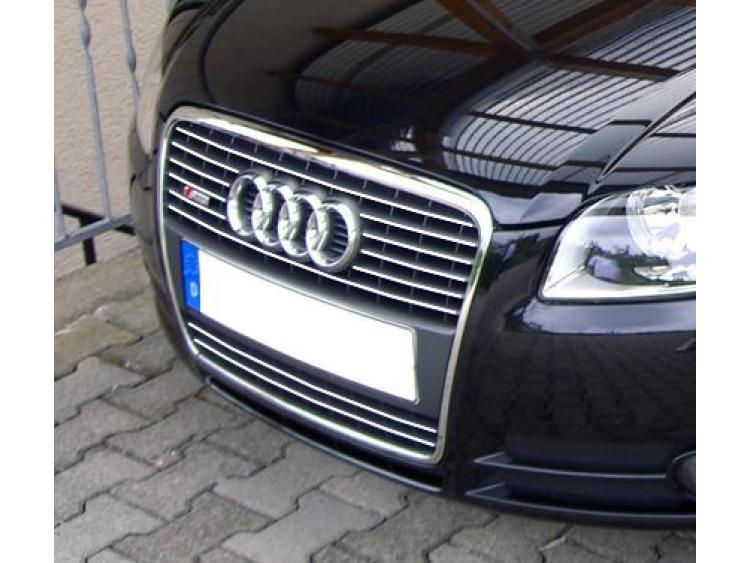 Baguette de calandre chromée Audi A4 série 2 phase 2 04-08 & Audi S4 03-08 série 2 v1