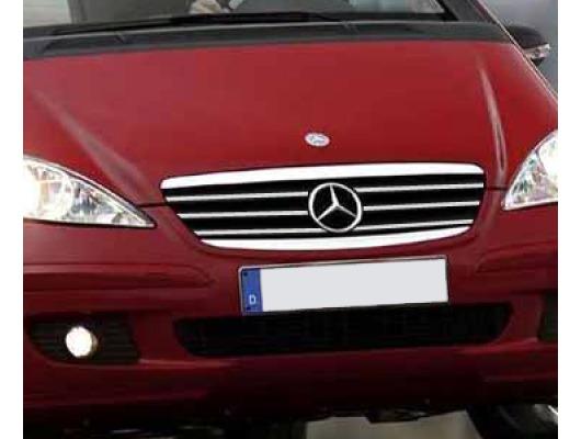 Radiator grill chrome moulding trim Mercedes Classe A W169 0408W169 Phase 2 0812W176 1218