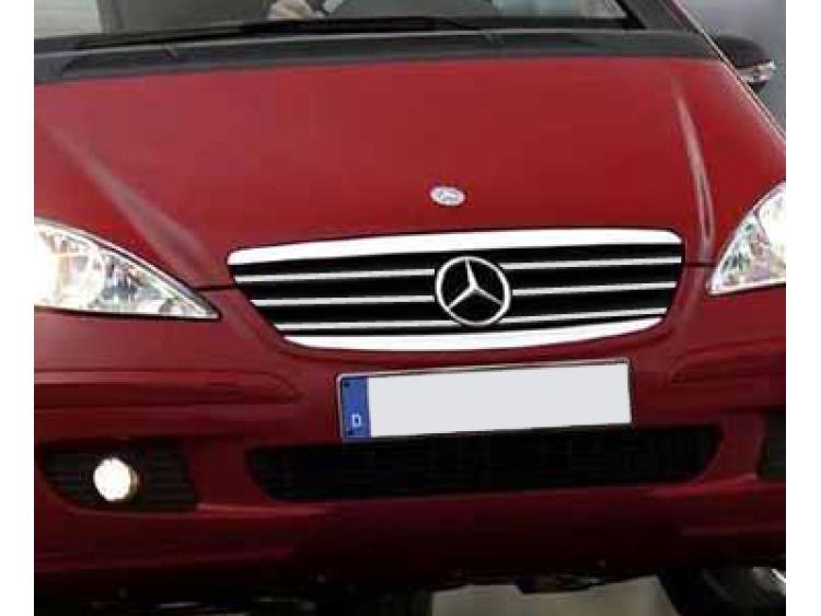 Cornice cromata griglia radiatore Mercedes Classe A W169 04-08 Classe A W169 Phase 2 08-12 Classe A