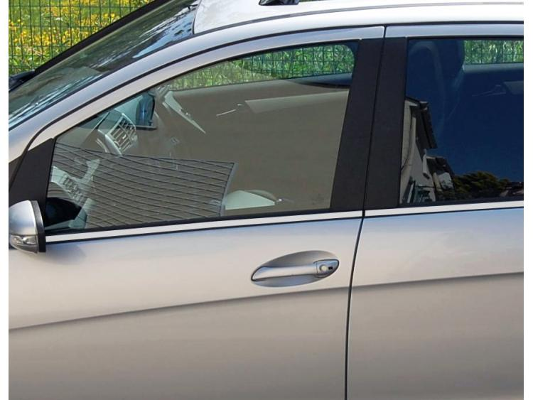 Side windows lower chrome trim Mercedes Classe A W169 04-08 Classe A W169 Phase 2 08-12 Classe A W17