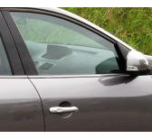 Baguette chromée de contour inférieur des vitres