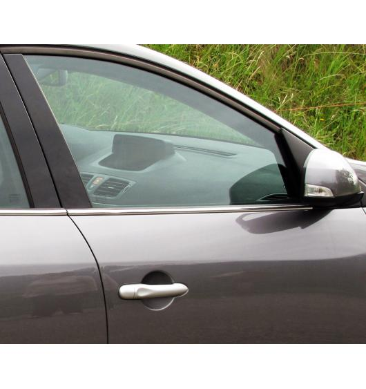 Side windows lower chrome trim Renault Mégane 3