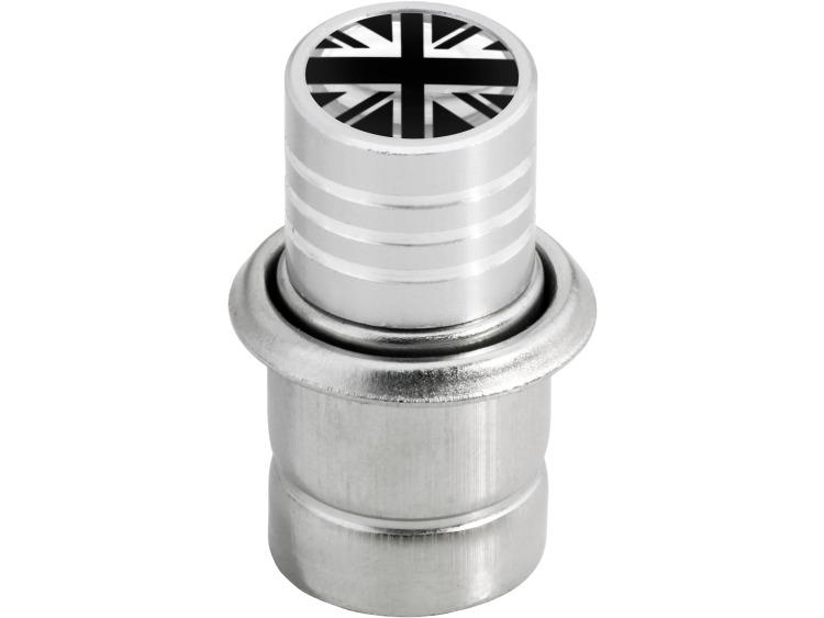 Accendisigari Inghilterra Regno Unito Inglese Gran Bretagna nero & cromo