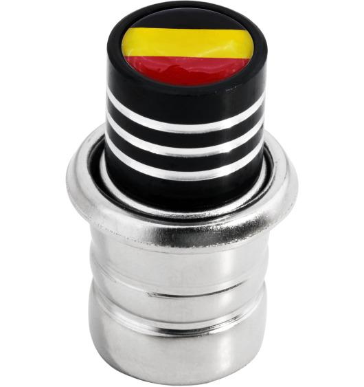 Allume-cigare drapeau Allemand Allemagne noir
