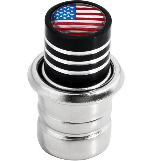 Allume-cigare Etats-Unis USA Amérique noir