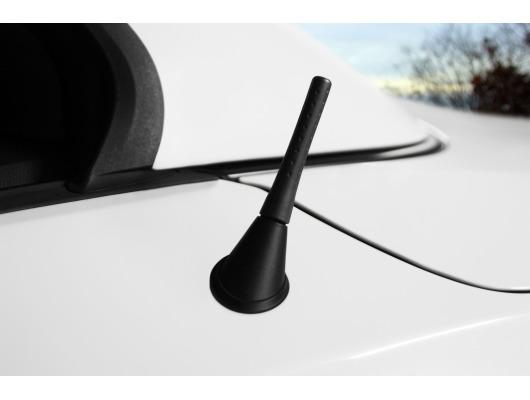 Antena corta en caucho