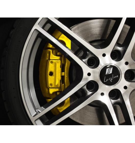 Bremssattellack-Set gelb