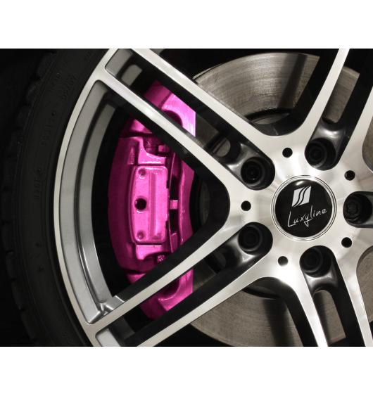 Bremssattellack-Set metallisch rosa