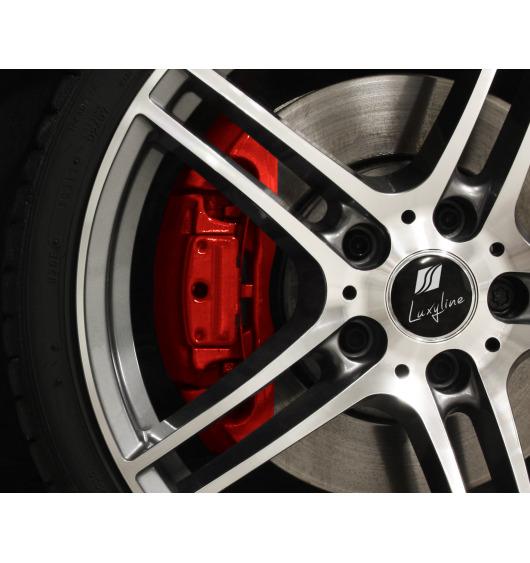Bremssattellack-Set rot