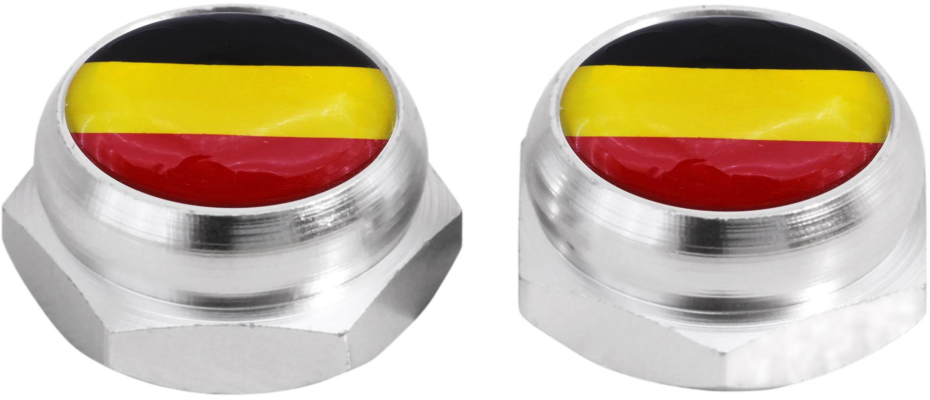 rivets plaque d 39 immatriculation drapeau allemand. Black Bedroom Furniture Sets. Home Design Ideas