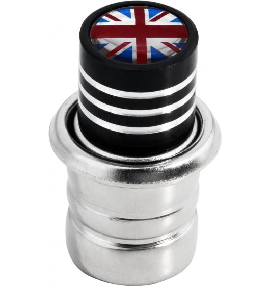 Cigarette lighter English Flag UK England British Union Jack black