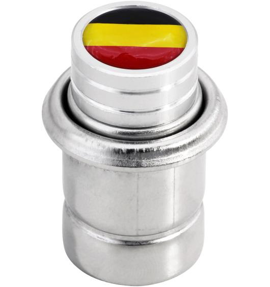 "Cigarette lighter Germany German flag ""short"""