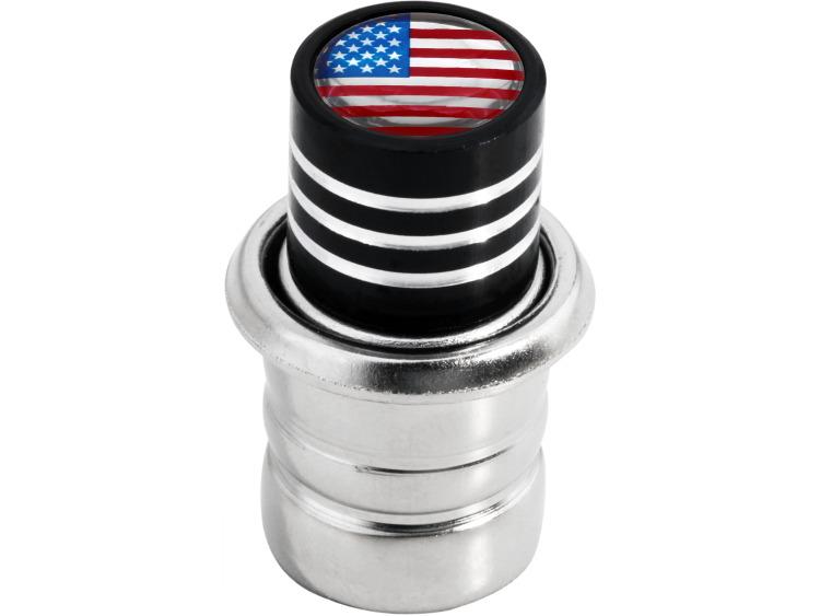 Cigarette lighter USA United States of America black
