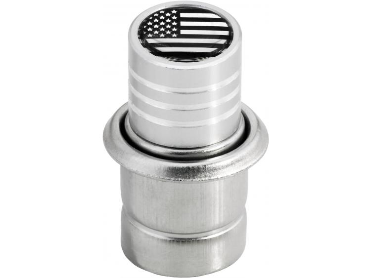 Cigarette lighter USA United States of America chrome