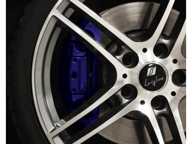 Kit peinture pour étriers de frein bleu